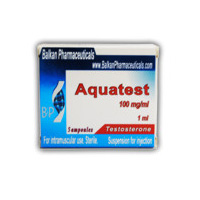 Aquatest (Balkan Pharma) - testosterone suspension